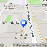 Kartta Kello- ja kultaliike Salo Tampere, Suomi