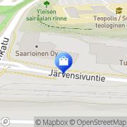 Kartta Toshiba Tec Nordic Ab Finland Tampere, Suomi