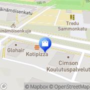 Kartta Taikalaatikko Tampere, Suomi