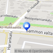 Kartta Hedengren Direct Oy Ab Tampere, Suomi