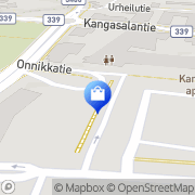 Kartta Kangasalan Kemikalio Kangasala, Suomi
