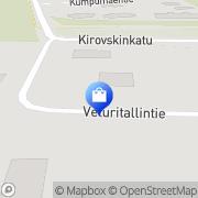 Kartta Muurausliike Tiilicenter Ky Tornio, Suomi