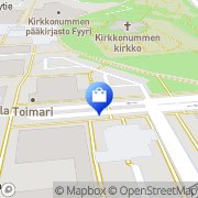 Kartta Seppälä myymälä Kirkkonummi, Suomi
