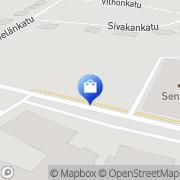 Kartta Fujitsu Services Oy Kemi, Suomi