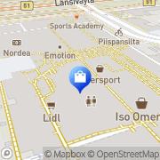Kartta Prisma Iso Omena Espoo, Suomi
