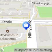 Kartta Fida Lähetystori Espoo, Suomi
