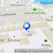 Kartta Keops Espoo, Suomi