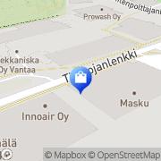Kartta Chinon Vantaa, Suomi