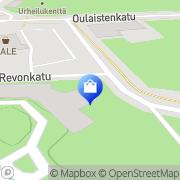 Kartta Piha- ja Vihersuunnittelu Villa Garden Oulainen, Suomi