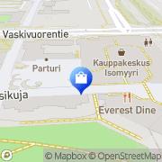 Kartta Kenkäliike Rosalina Vantaa, Suomi