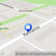 Kartta Coffeeworks Helsinki, Suomi