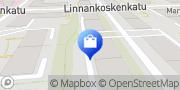 Kartta Töölön verhoomo Helsinki, Suomi
