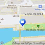 Kartta Helsingin Konservatorio Helsinki, Suomi