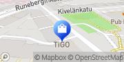 Kartta Töölön Sikarikauppa Helsinki, Suomi