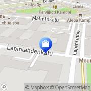 Kartta Belua Helsinki, Suomi