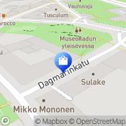 Kartta claire.dk Helsinki, Suomi