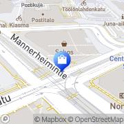 Kartta Kicks Sokos Helsinki, Suomi