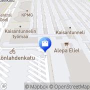 Kartta Film Town Helsinki, Suomi