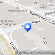 Kartta Pineapple Finland Helsinki, Suomi