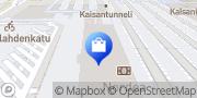 Kartta Helsingin Pantti Oy Rautatieasema Helsinki, Suomi