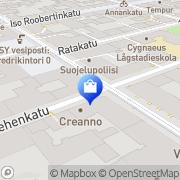 Kartta Cazze Opti-San Oy Helsinki, Suomi