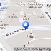 Kartta Veikon Kone Aleksi Helsinki, Suomi