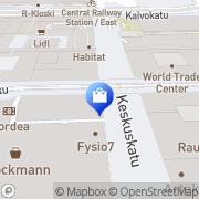 Map Stockmann Helsingin tavaratalo Helsinki, Finland