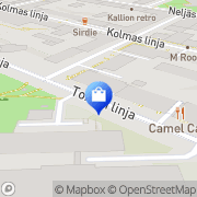 Kartta Di Donna Helsinki, Suomi