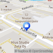 Kartta Nivalan kello-optiikka Nivala, Suomi