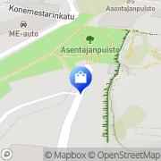 Kartta Marimekko Tehtaanmyymälä Helsinki, Suomi
