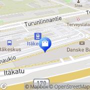 Kartta Sisustustupa Helsinki, Suomi