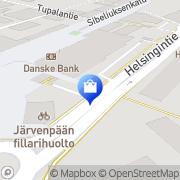 Kartta Musta Pörssi Järvenpää, Suomi