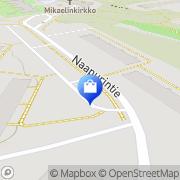 Kartta Elnan Käsityöt Helsinki, Suomi