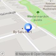 Kartta Ompelurasia Pajala, Suomi