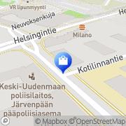 Kartta Anne Seiluri Järvenpää, Suomi