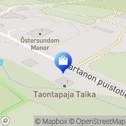 Kartta Taontapaja Taika Helsinki, Suomi