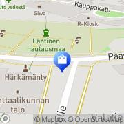 Kartta Kukkakauppa Kurtti Ky Saarijärvi, Suomi