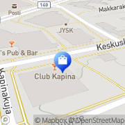 Kartta Seppälä myymälä Mäntsälä, Suomi