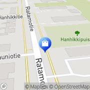 Kartta Pelastusarmeijan myymälä Oulu, Suomi