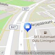 Kartta Turun Uunisepät Oy Oulu, Suomi