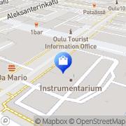 Kartta Ecco-Shop Oulu Oulu, Suomi