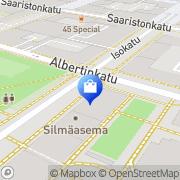Kartta Sisustus- ja Lahjatavaraliike DecorAsia Oulu, Suomi