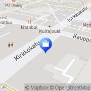 Kartta Opti-Silmä Boutique Oulu, Suomi