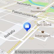 Kartta Lindex Oy Oulu, Suomi