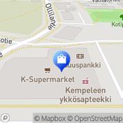 Kartta Kempeleen I Apteekki Kempele, Suomi