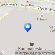 Kartta Dressmann Kempele, Suomi
