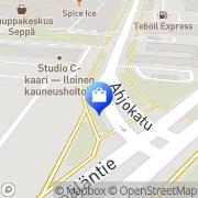 Kartta dna-myyntipiste Gigantti Halssila, Suomi