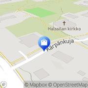 Kartta G4S Lukkoasema Oy Jyväskylä Jyväskylä, Suomi