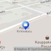 Kartta Yves Rocher Kotka, Suomi