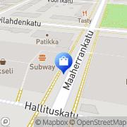 Kartta Muodintukku Mikkeli, Suomi